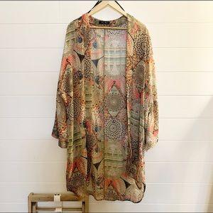 Sweaters - Tribal kimono